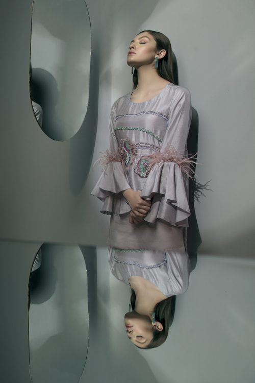 fifty shades of grey Designer Dress in Pakistan