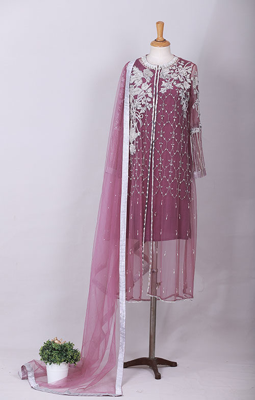 Violet Glaze Fashion Designer Dress In Pakistan